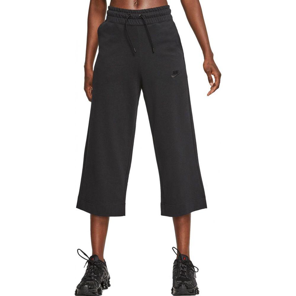 ナイキ Nike レディース クロップド ボトムス・パンツ【Sportswear Jersey Capris】Black