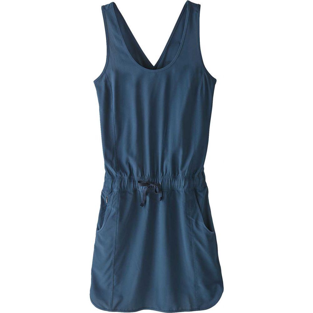 パタゴニア Patagonia レディース ワンピース ワンピース・ドレス【Fleetwith Dress】Stone Blue