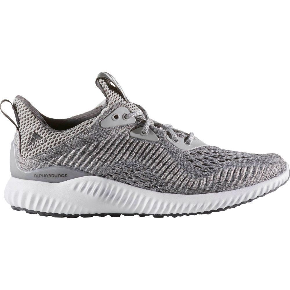 アディダス adidas レディース ランニング・ウォーキング シューズ・靴【alphabounce EM Running Shoes】Grey/White