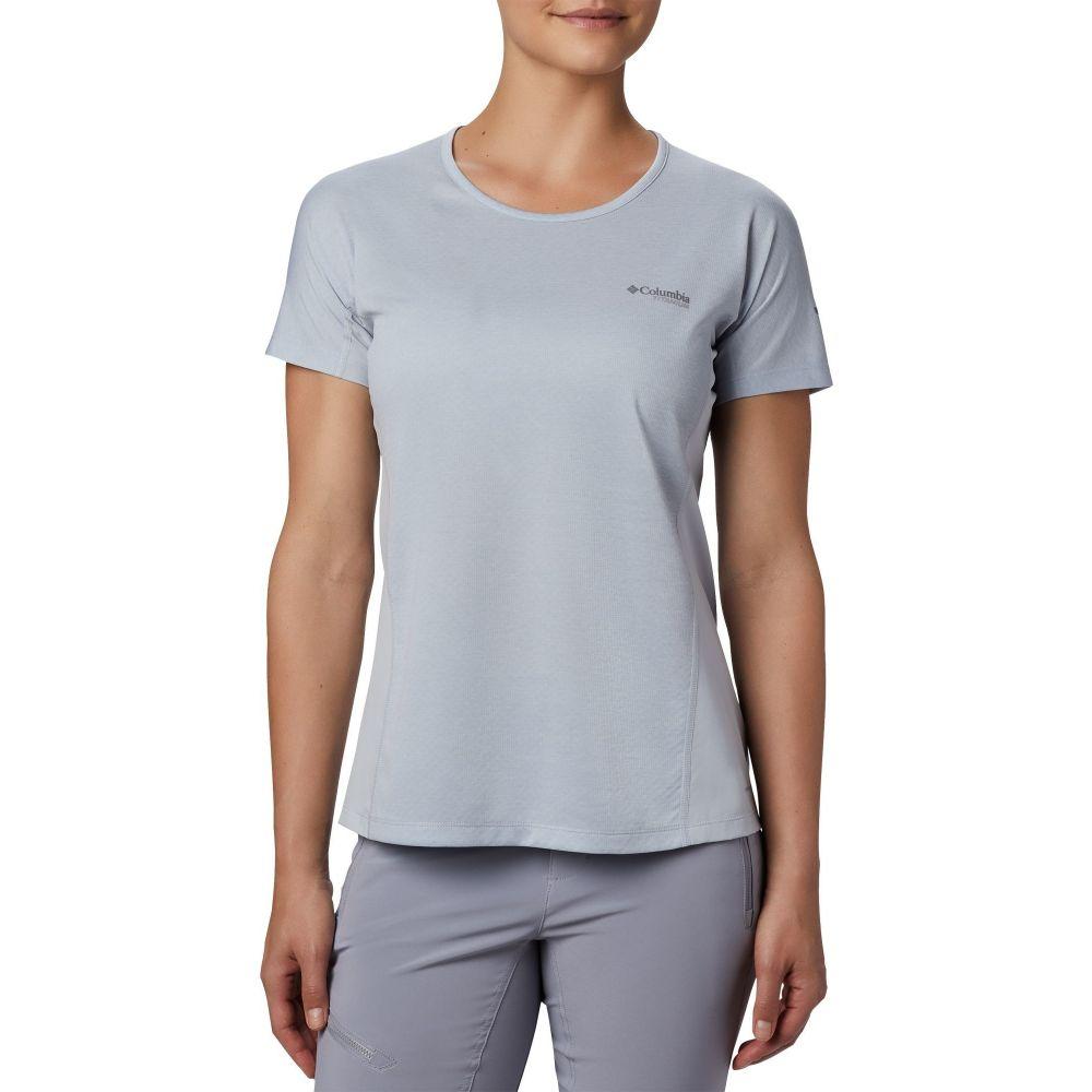 コロンビア Columbia レディース Tシャツ トップス【Irico Knit T-Shirt】Cirrus Grey