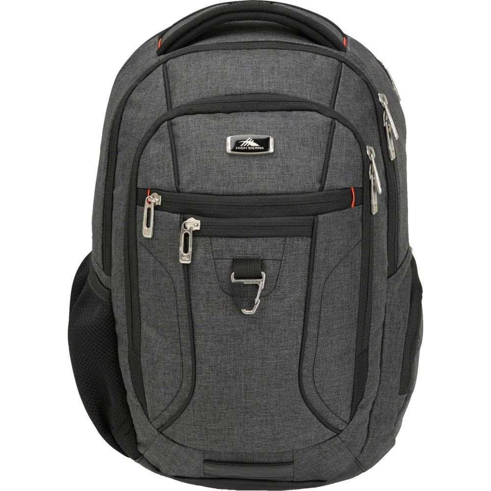 ハイシエラ High Sierra レディース バックパック・リュック バッグ【Endeavor Essential Backpack】Mercury Heather/Black
