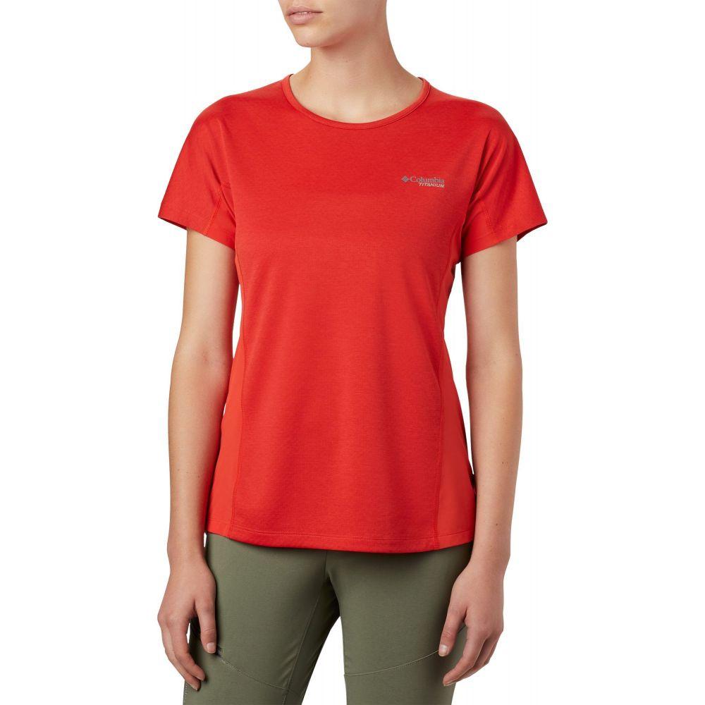 コロンビア Columbia レディース Tシャツ トップス【Irico Knit T-Shirt】Bold Orange