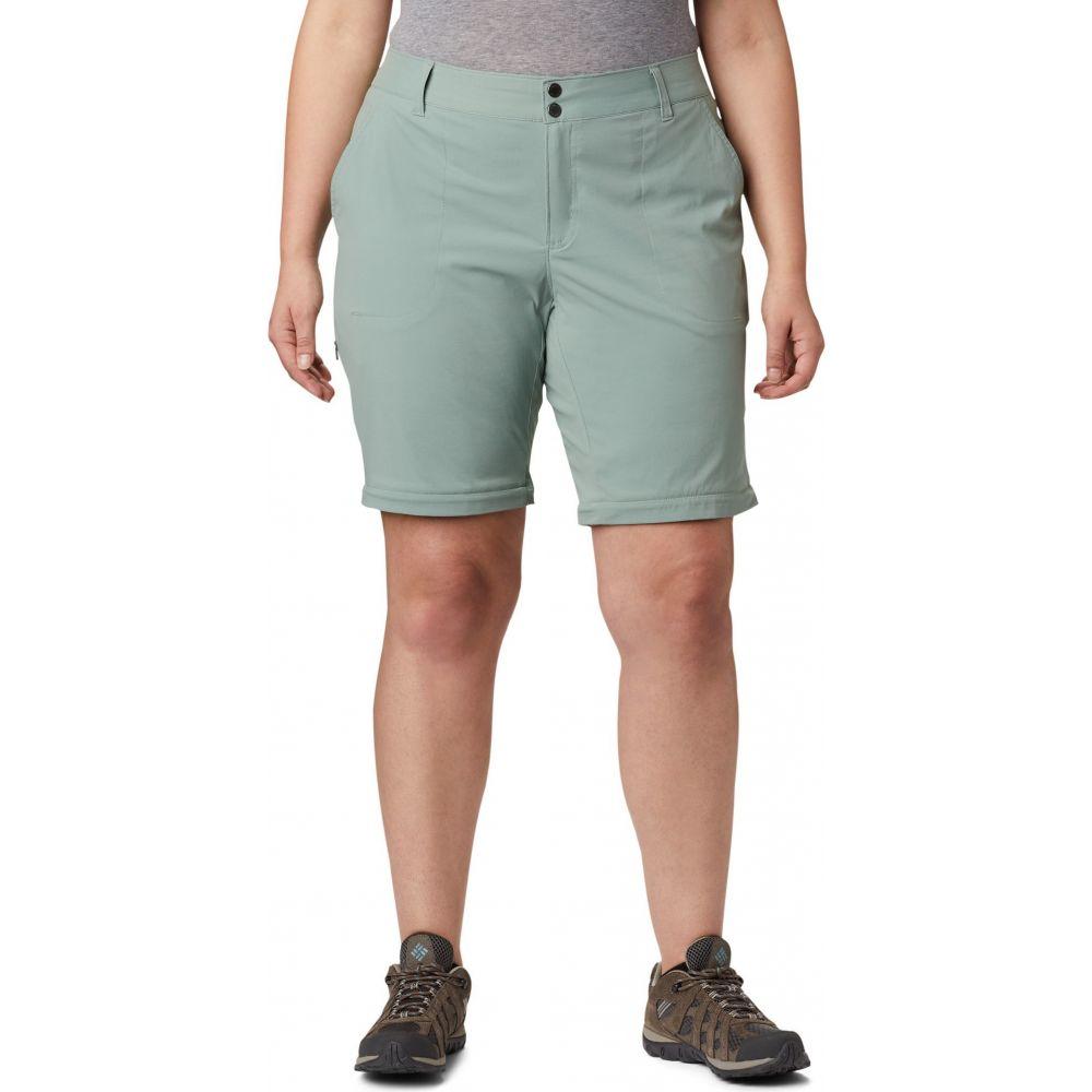 コロンビア Columbia レディース ボトムス・パンツ 大きいサイズ【Plus Size Saturday Trail II Convertible Pants】Light Lichen
