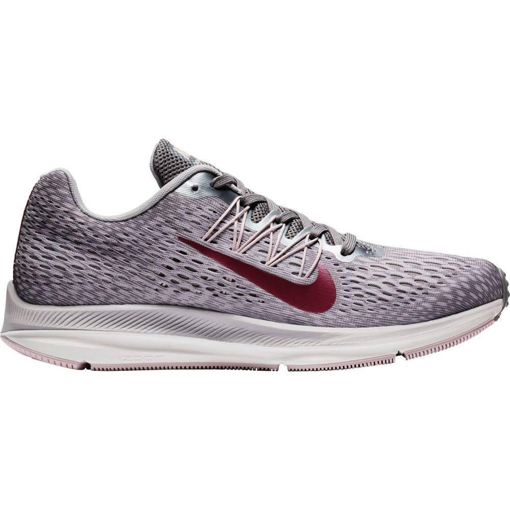 ナイキ Nike レディース ランニング・ウォーキング シューズ・靴【Air Zoom Winflo 5 Running Shoes】Grey/Berry
