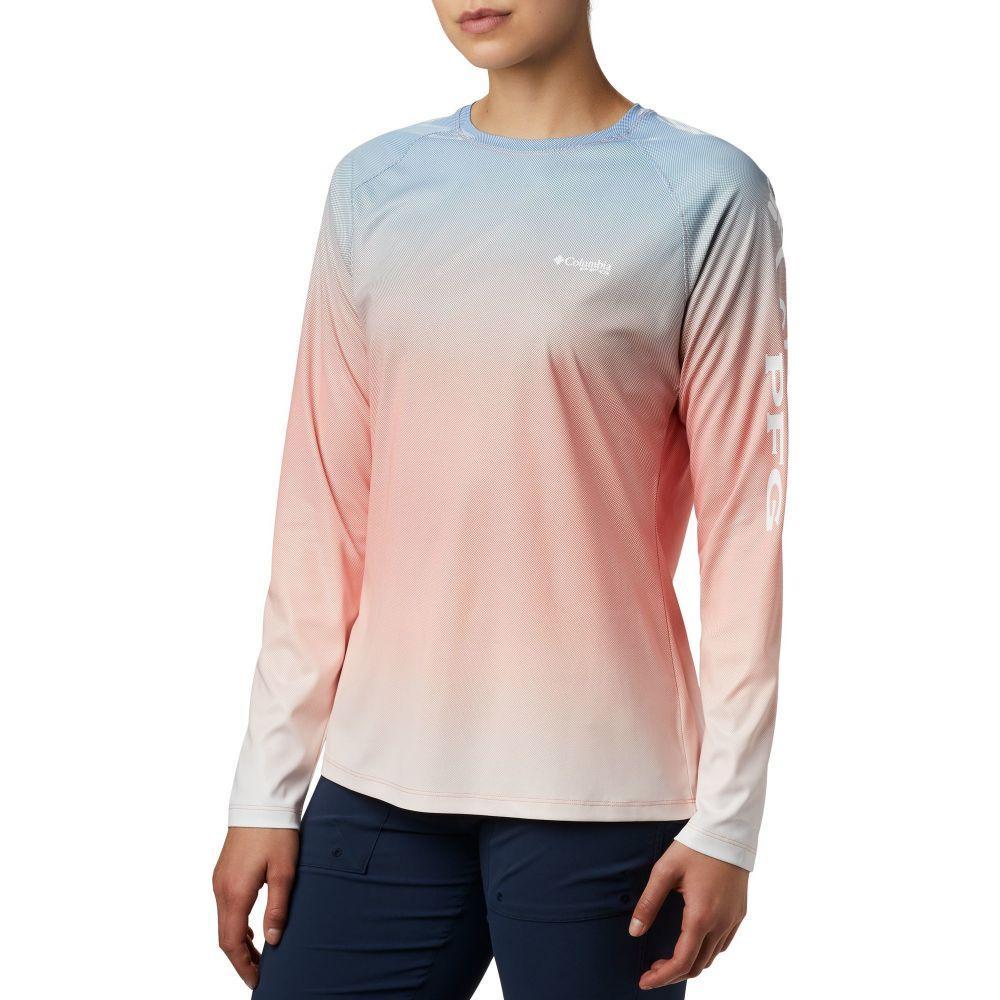 コロンビア Columbia レディース トップス 【Tidal Deflector Long Sleeve Shirt】Lychee Gradient