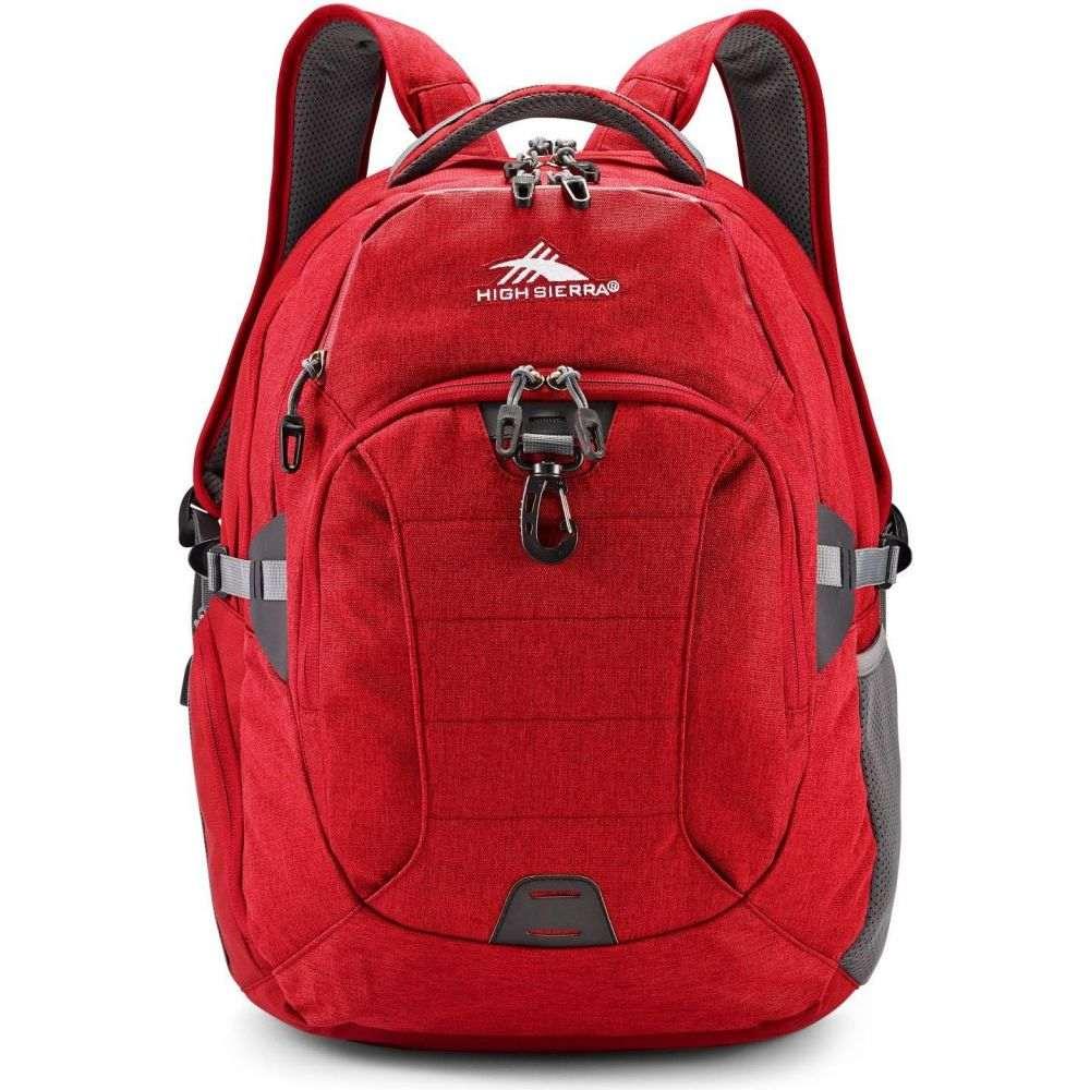 ハイシエラ High Sierra レディース バックパック・リュック バッグ【Jarvis Backpack】Chili Pepper/Slate