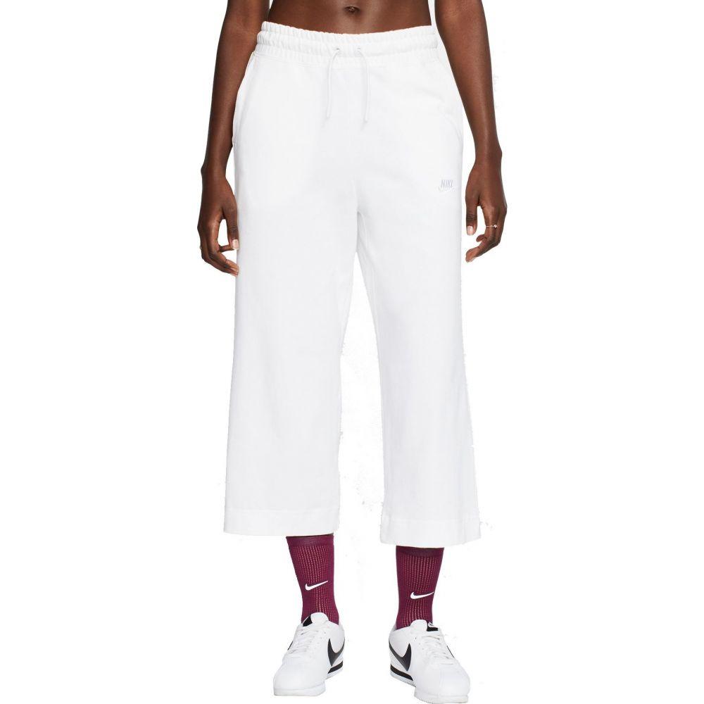 ナイキ Nike レディース クロップド ボトムス・パンツ【Sportswear Jersey Capris】White