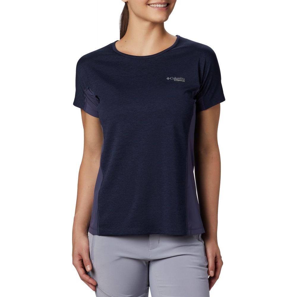コロンビア Columbia レディース Tシャツ トップス【Irico Knit T-Shirt】Nocturnal