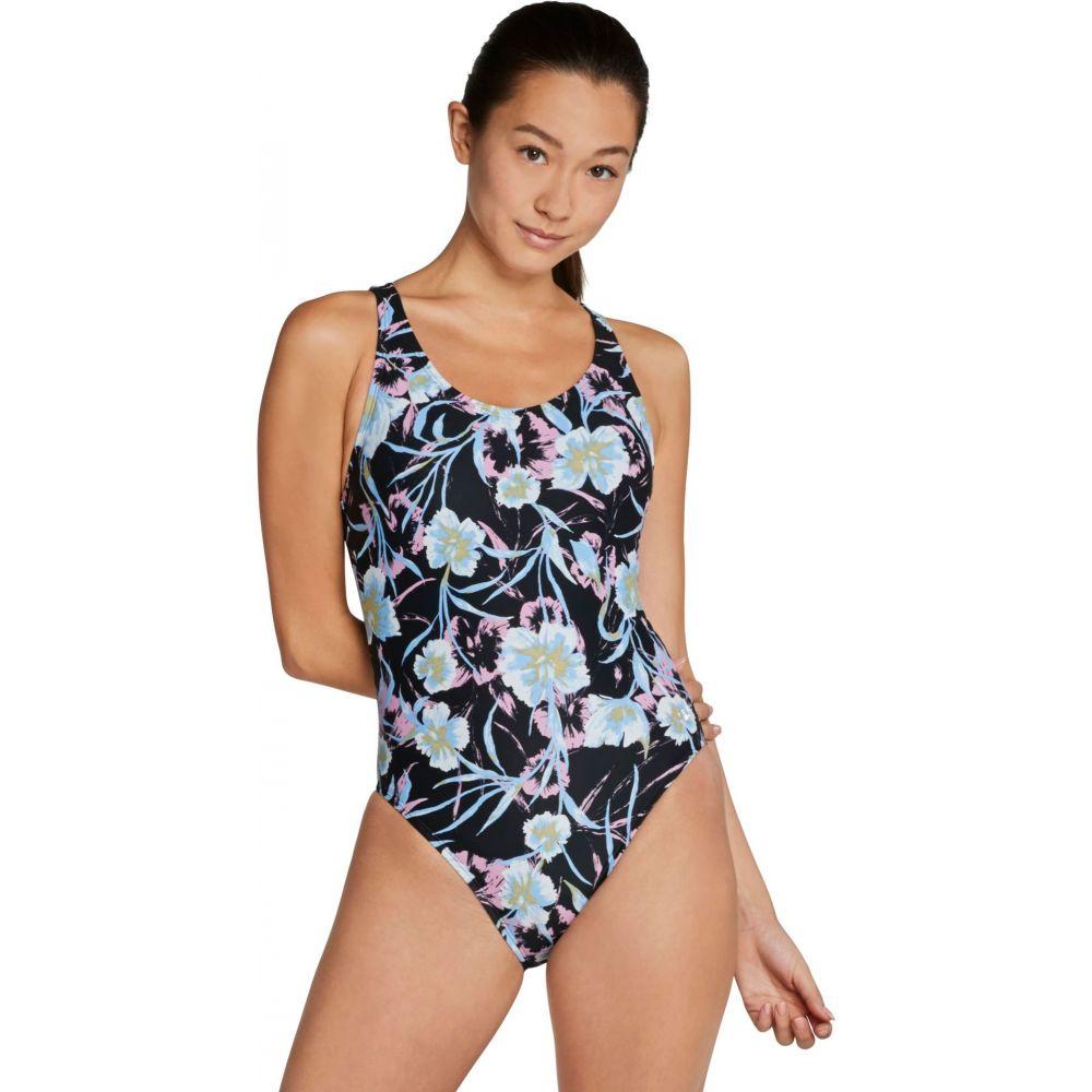 スピード Speedo レディース ワンピース 水着・ビーチウェア【Printed Thin Strap One Piece Swimsuit】Multi