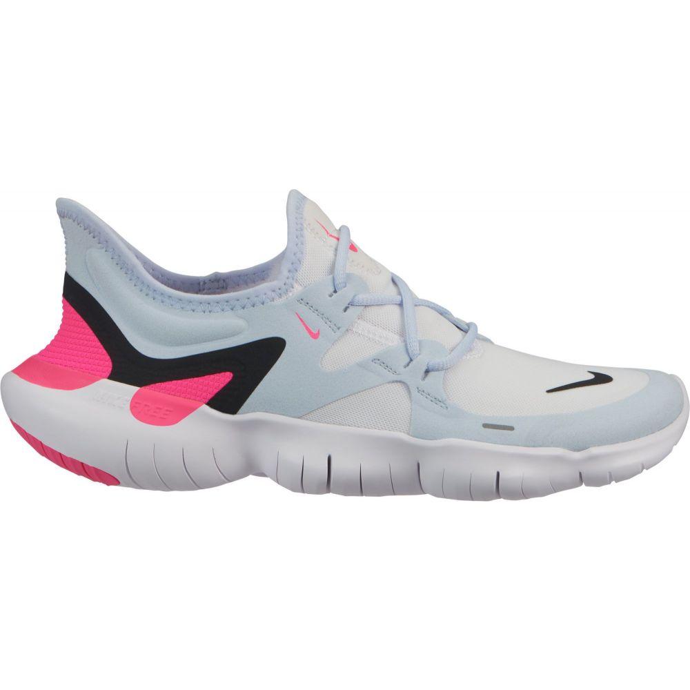 ナイキ Nike レディース ランニング・ウォーキング シューズ・靴【Free RN 5.0 Running Shoes】White/Hyper Pink/Black