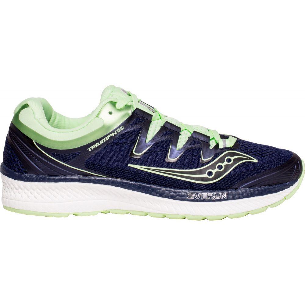 サッカニー Saucony レディース ランニング・ウォーキング シューズ・靴【Triumph ISO 4 Running Shoes】Navy/Mint