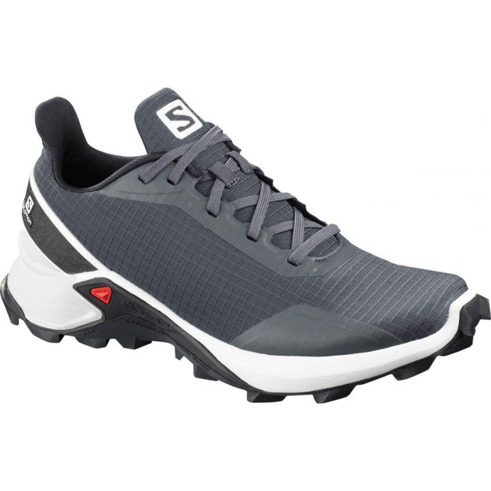 サロモン Salomon レディース ランニング・ウォーキング シューズ・靴【Alphacross Trail Running Shoes】White/Black
