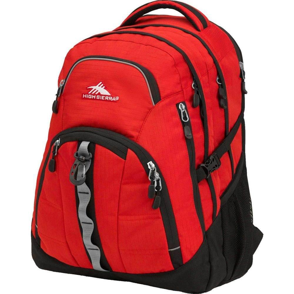 ハイシエラ High Sierra レディース バックパック・リュック バッグ【Access 2.0 Backpack】Crimson/Black