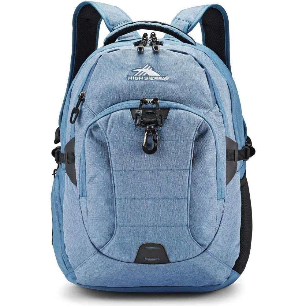ハイシエラ High Sierra レディース バックパック・リュック バッグ【Jarvis Backpack】Graphite Blue/Black