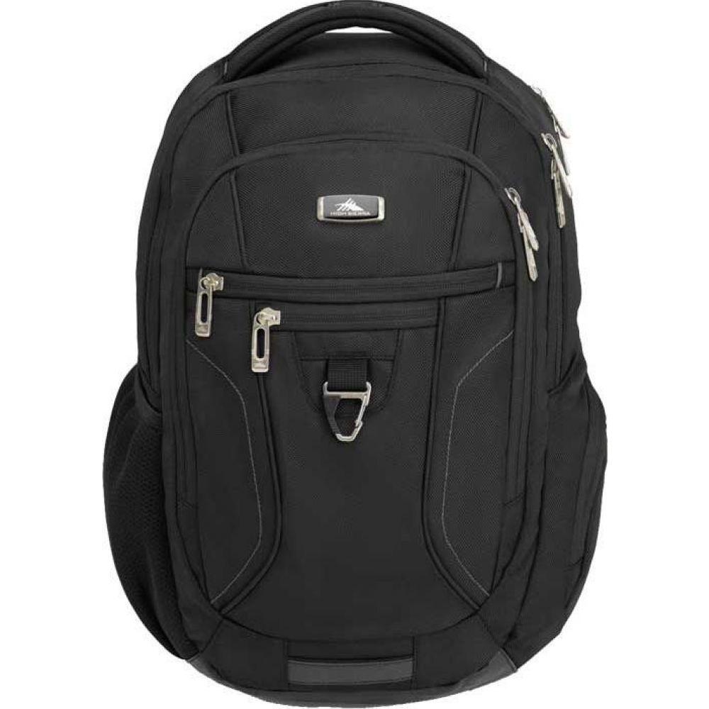 ハイシエラ High Sierra レディース バックパック・リュック バッグ【Endeavor Essential Backpack】Black