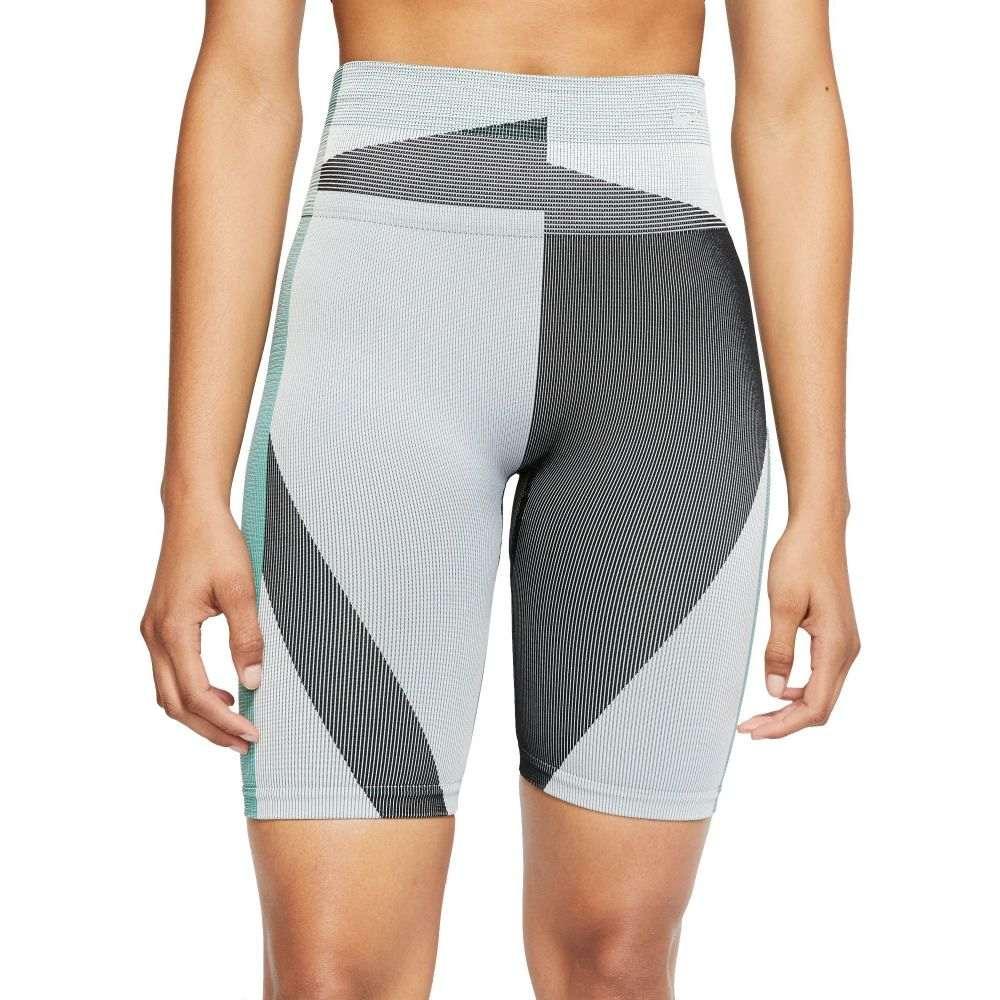 ナイキ Nike レディース フィットネス・トレーニング ショートパンツ ボトムス・パンツ【Icon Clash 8'' Training Shorts】Grey Fog