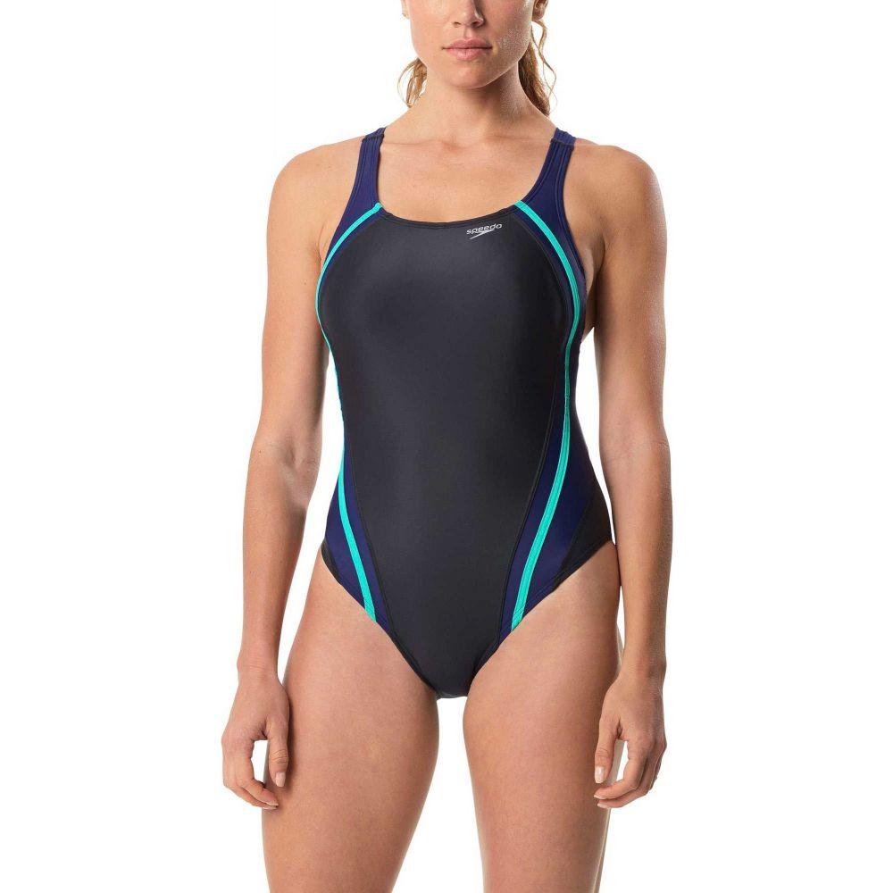 スピード Speedo レディース ワンピース 水着・ビーチウェア【Quantum Splice Swimsuit】Green