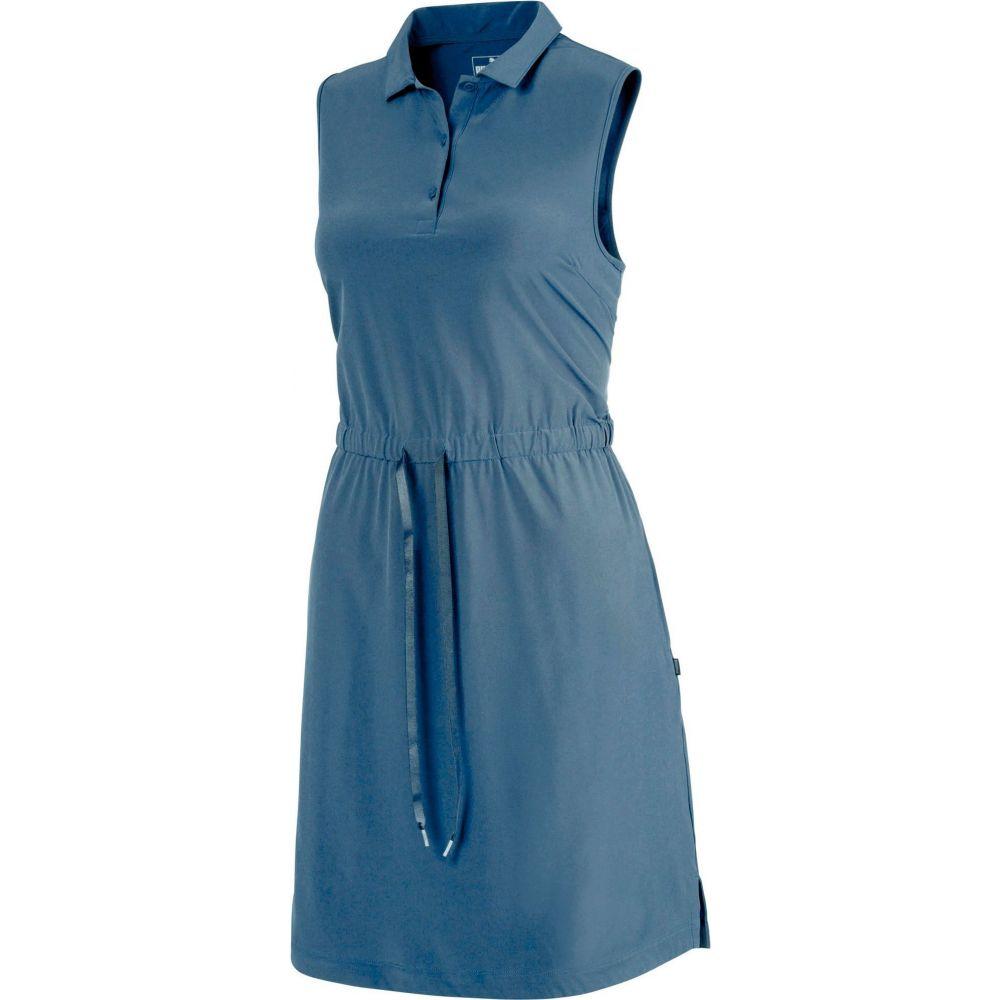 プーマ PUMA レディース ゴルフ ノースリーブ ワンピース トップス【Sleeveless Golf Dress】Dark Denim