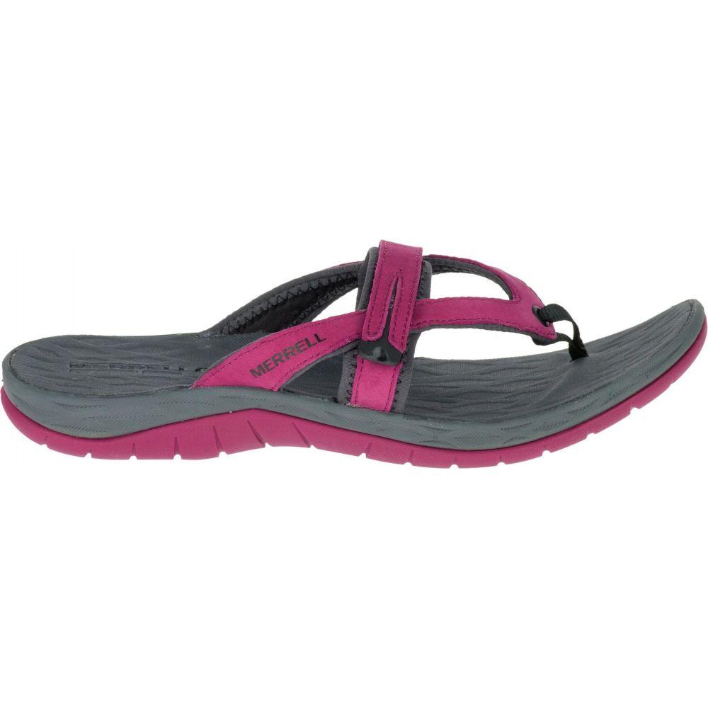 メレル Merrell レディース ビーチサンダル シューズ・靴【Siren Flip Q2 Sandals】Beet Red