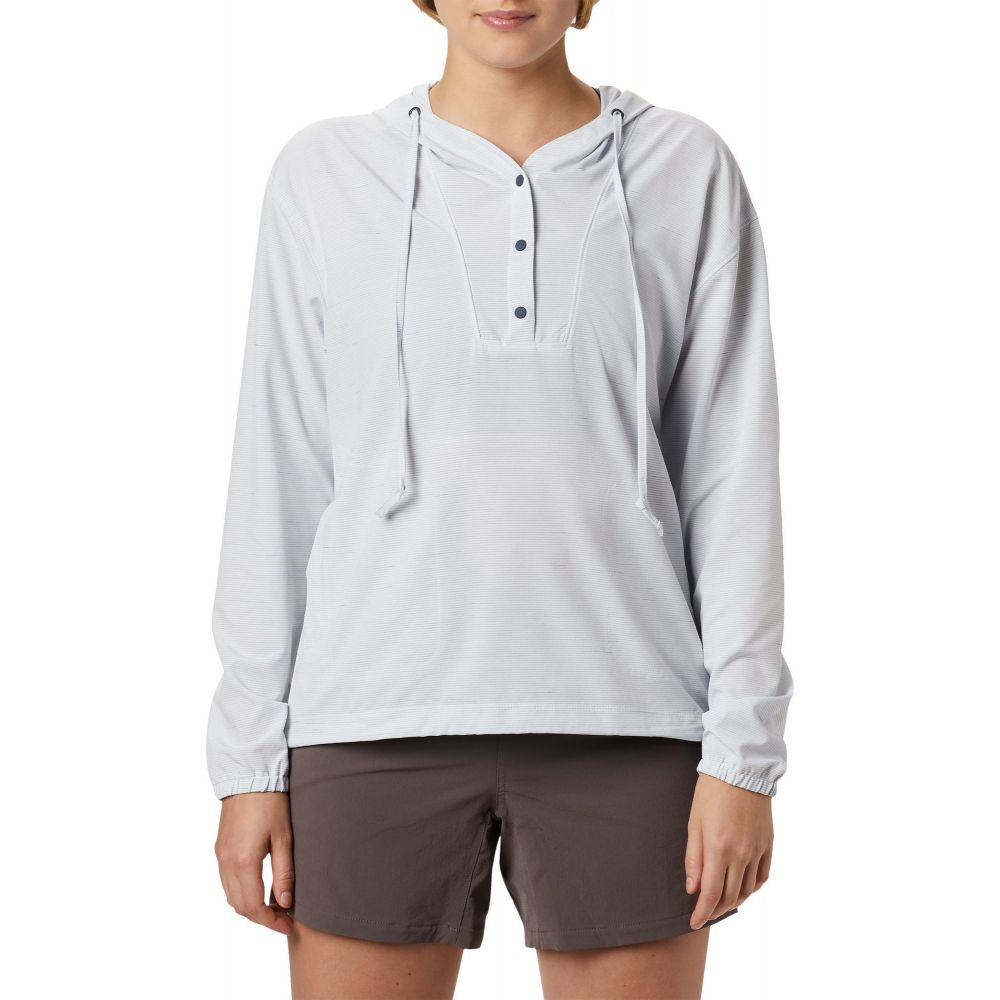 マウンテンハードウェア Mountain Hardwear レディース トップス 【Mallorca Stretch Long Sleeve Shirt】Zinc
