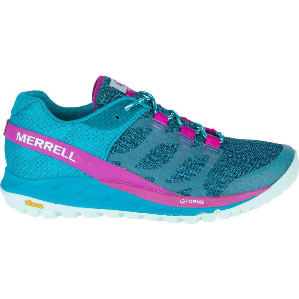 メレル Merrell レディース ランニング・ウォーキング シューズ・靴【Antora Trail Running Shoes】Teal/Pink