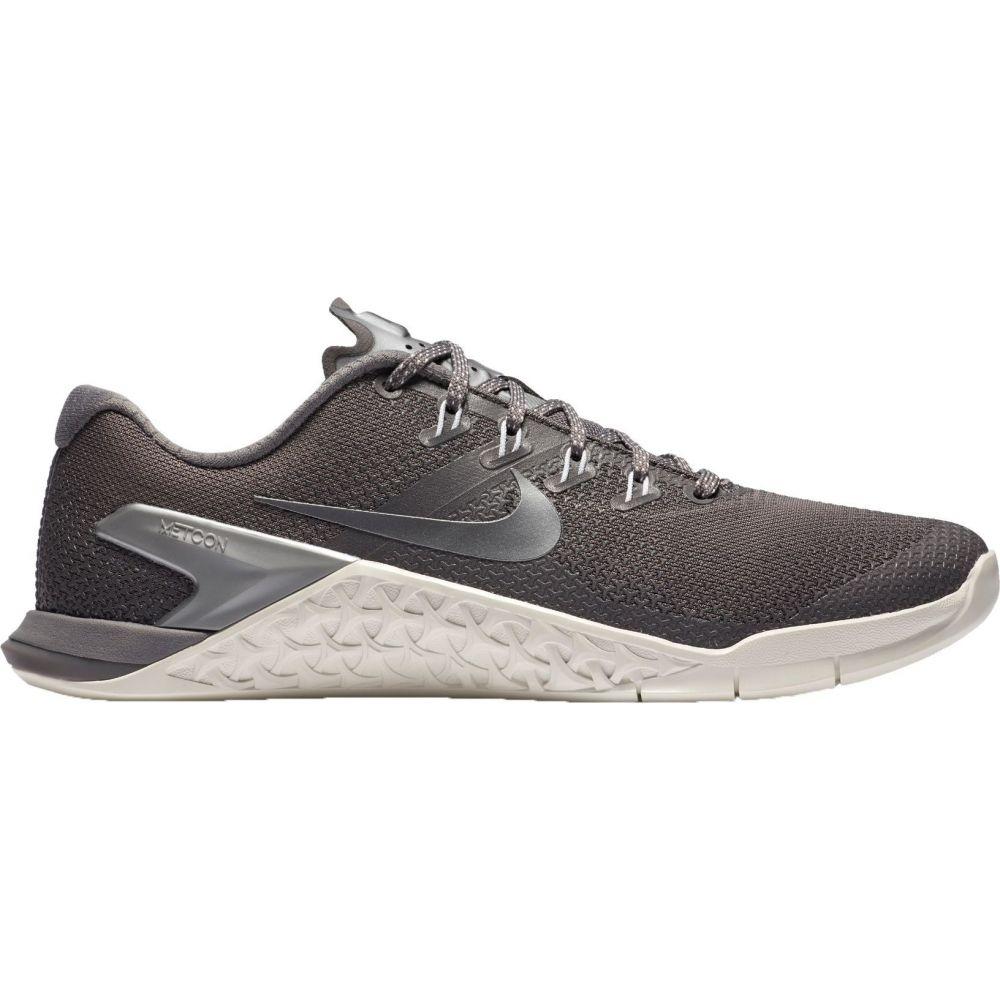 ナイキ Nike レディース フィットネス・トレーニング シューズ・靴【Metcon 4 Training Shoes】Gunsmoke/White