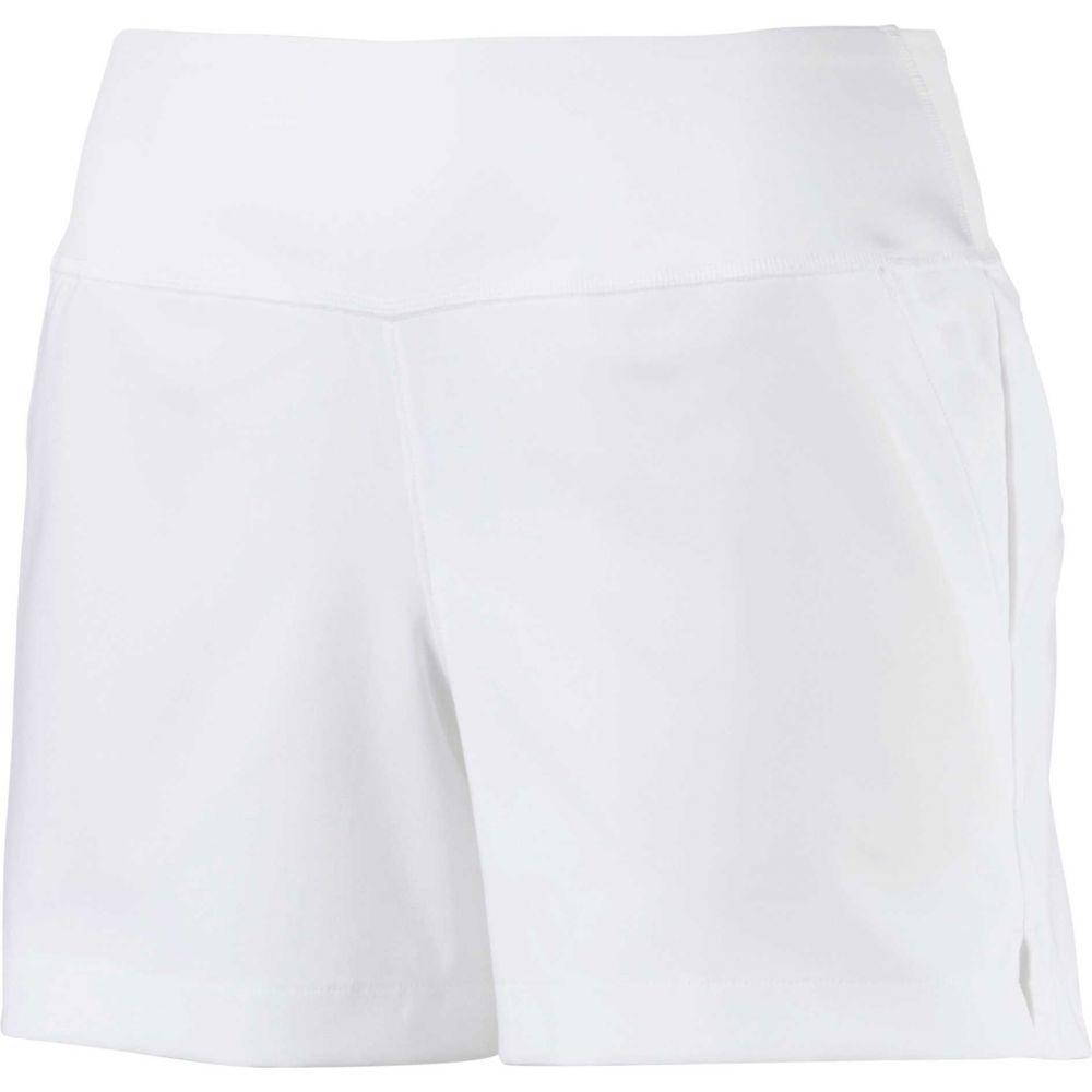 プーマ PUMA レディース ゴルフ ショートパンツ ボトムス・パンツ【PWRSHAPE Golf Shorts】Bright White