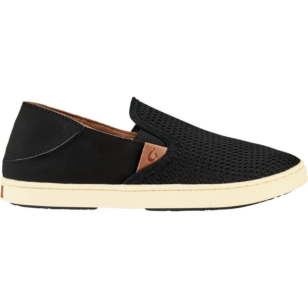 オルカイ OluKai レディース シューズ・靴 【Pehuea Casual Shoes】Black/Black