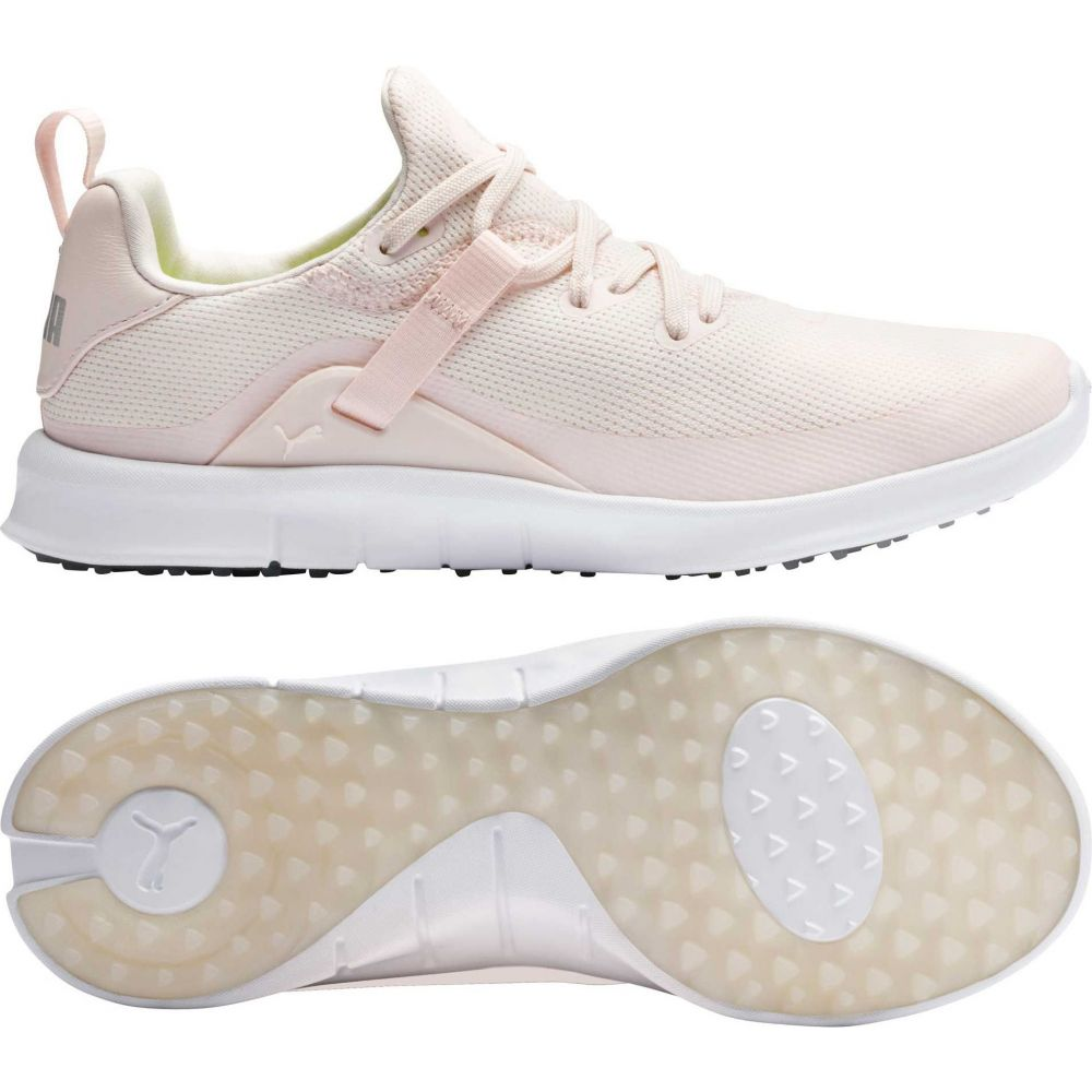 プーマ PUMA レディース ゴルフ シューズ・靴【Laguna FUSION Sport Golf Shoes】Rosewater/White
