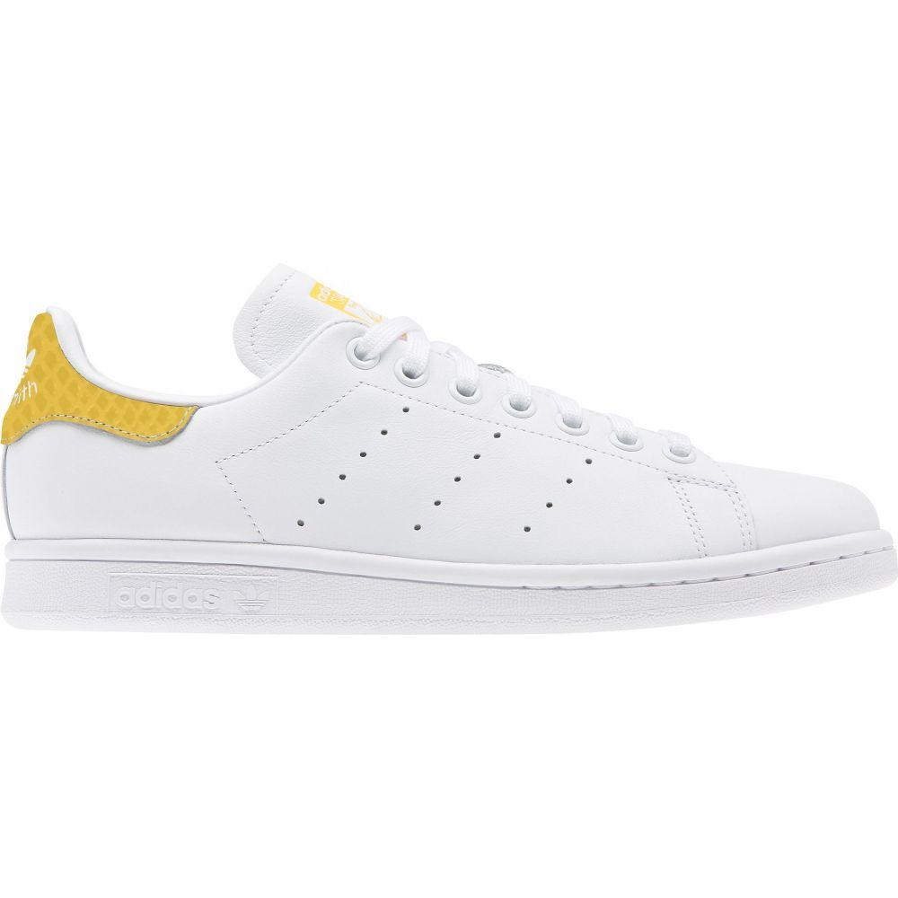 アディダス adidas レディース スニーカー シューズ・靴【Originals Stan Smith Shoes】White/Yellow
