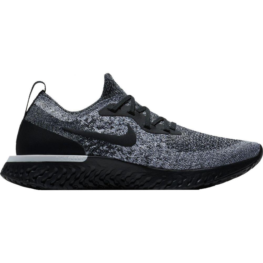 ナイキ Nike レディース ランニング・ウォーキング シューズ・靴【Epic React Flyknit Running Shoes】Black/Black/White