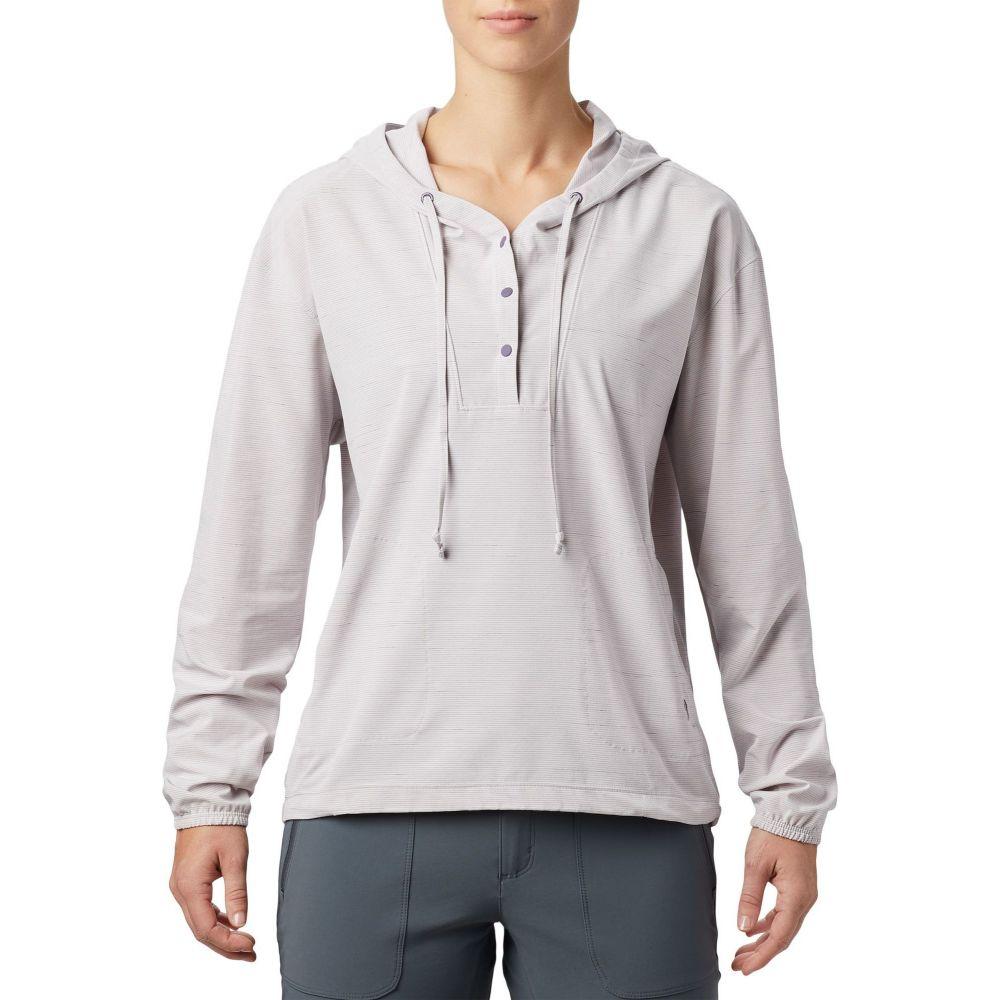 マウンテンハードウェア Mountain Hardwear レディース トップス 【Mallorca Stretch Long Sleeve Shirt】Dusted Sky