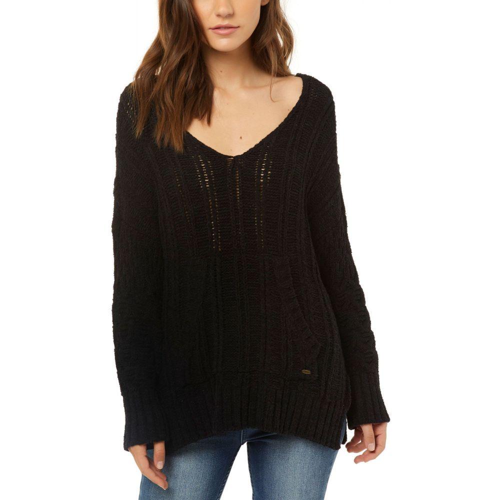 オニール O'Neill レディース ニット・セーター トップス【Blaze Pullover Sweater】Black/Black