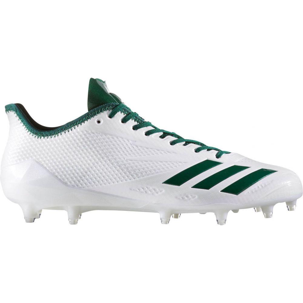 アディダス adidas メンズ アメリカンフットボール スパイク シューズ・靴【adizero 5-Star 6.0 Football Cleats】White/Green