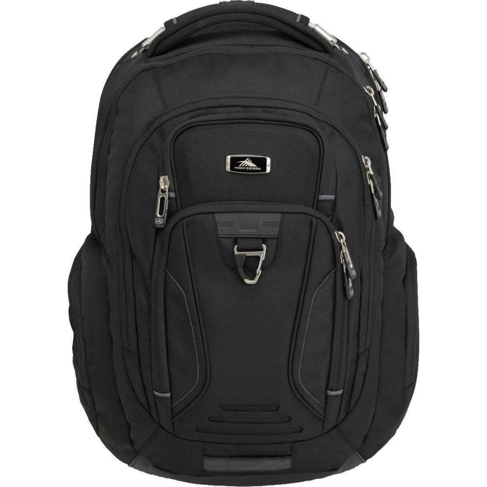 ハイシエラ High Sierra レディース バックパック・リュック バッグ【Endeavor Elite Backpack】Black
