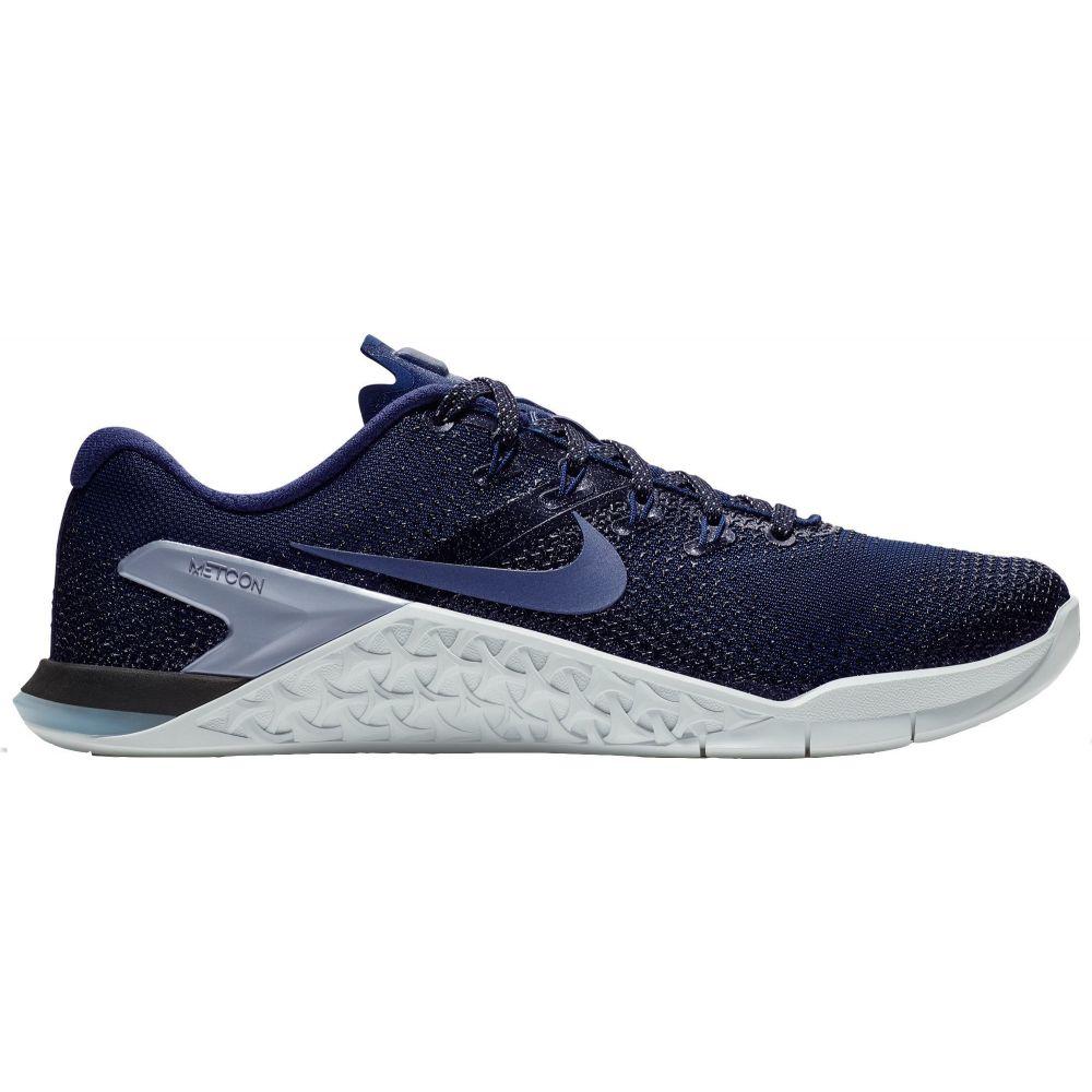 ナイキ Nike レディース フィットネス・トレーニング シューズ・靴【Metcon 4 Training Shoes】Navy/Black/Silver
