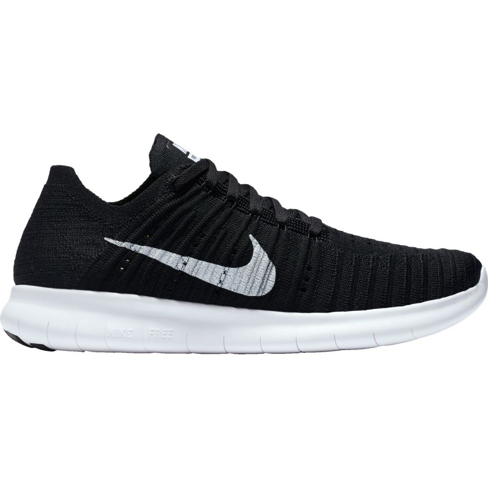 ナイキ Nike レディース ランニング・ウォーキング シューズ・靴【Free RN Flyknit Running Shoes】Black/White
