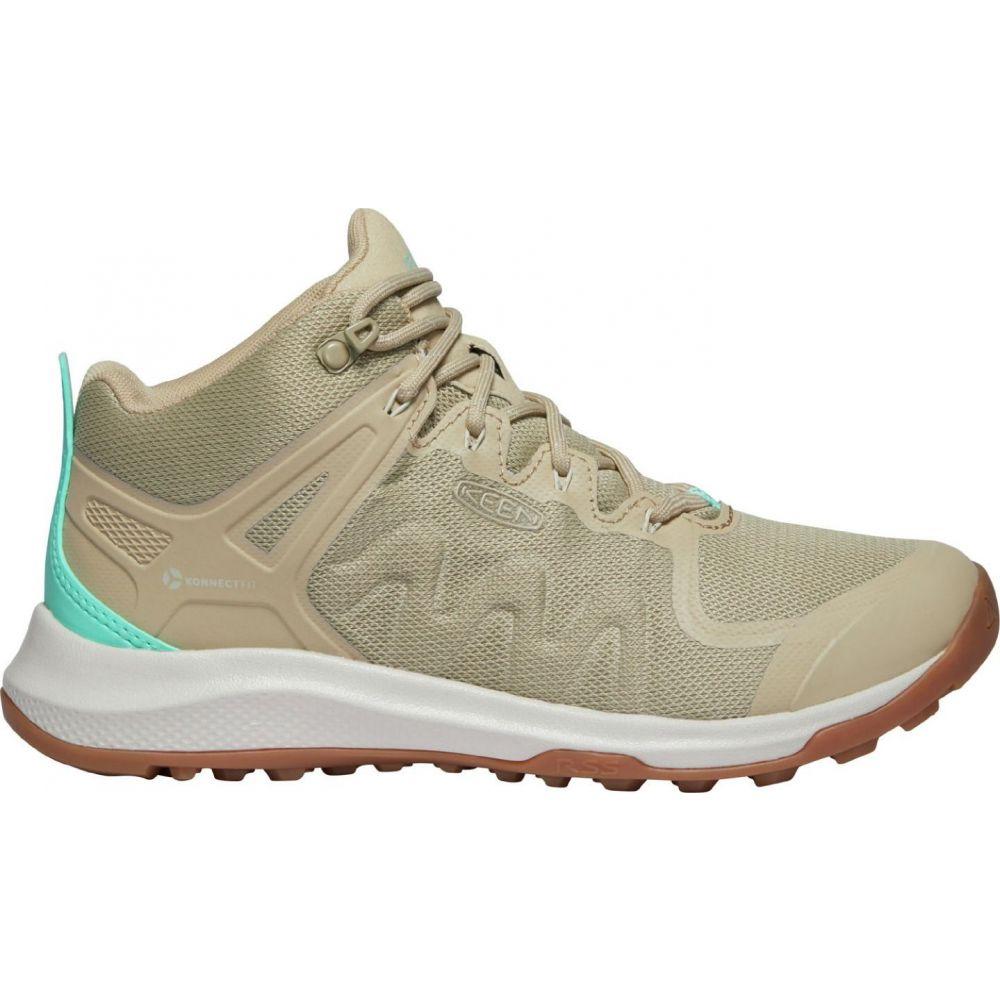 キーン Keen レディース ハイキング・登山 ブーツ シューズ・靴【KEEN Explore Vent Mid Hiking Boots】Safari
