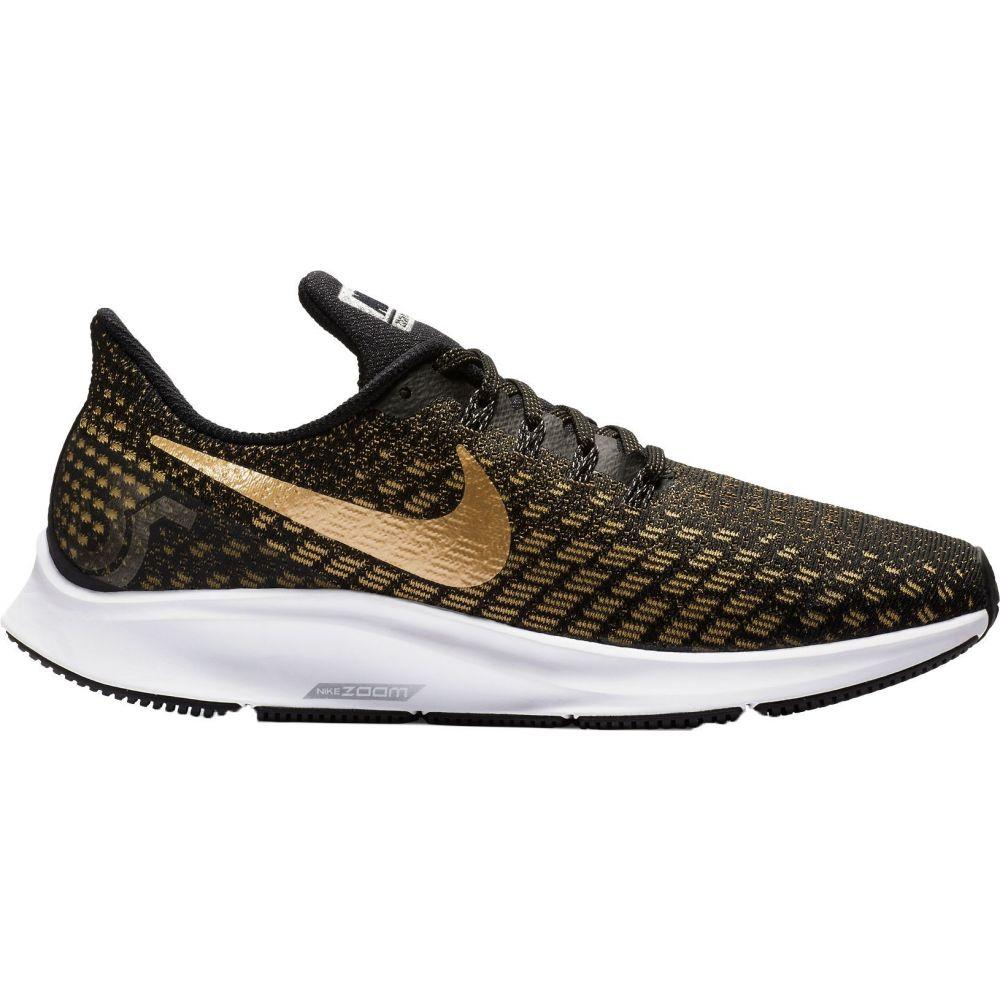 ナイキ Nike レディース ランニング・ウォーキング シューズ・靴【Air Zoom Pegasus 35 Running Shoes】Black/Gold