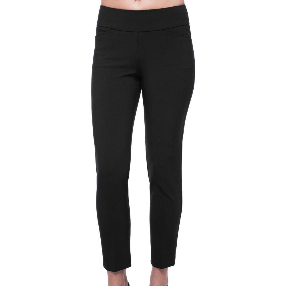 IBKUL レディース ゴルフ アンクル クロップド ボトムス・パンツ【Ankle Length Golf Pants】Black