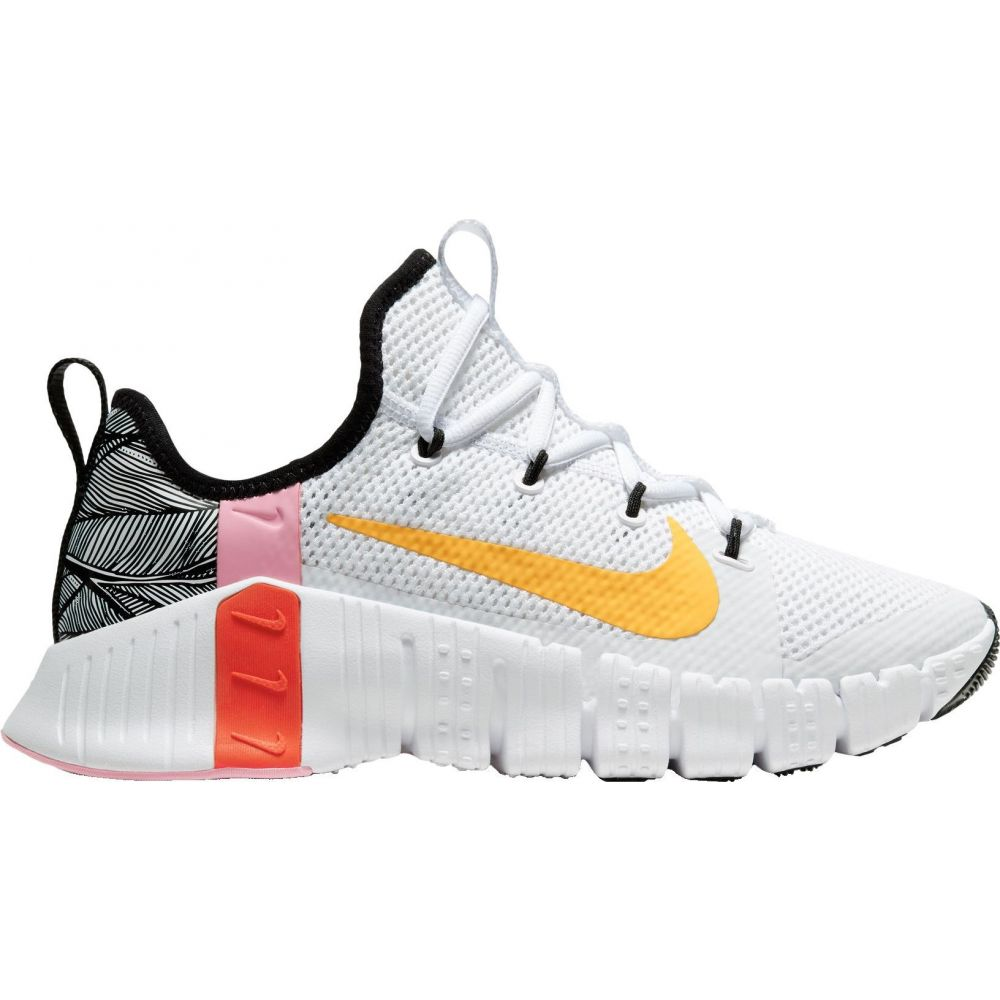 ナイキ Nike レディース フィットネス・トレーニング シューズ・靴【Free Metcon 3 Training Shoes】White/Orange/Black