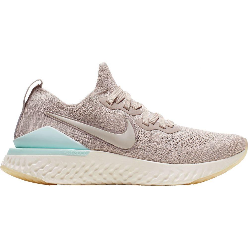 ナイキ Nike レディース ランニング・ウォーキング シューズ・靴【Epic React Flyknit 2 Running Shoes】Partical Brown/Teal
