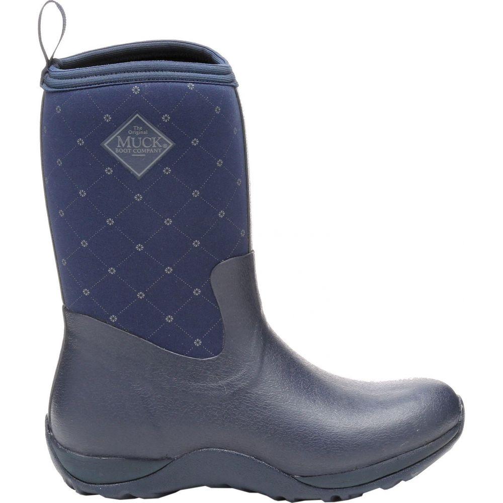 マックブーツ Muck Boots レディース ブーツ ウインターブーツ シューズ・靴【Arctic Weekend Waterproof Winter Boots】Navy