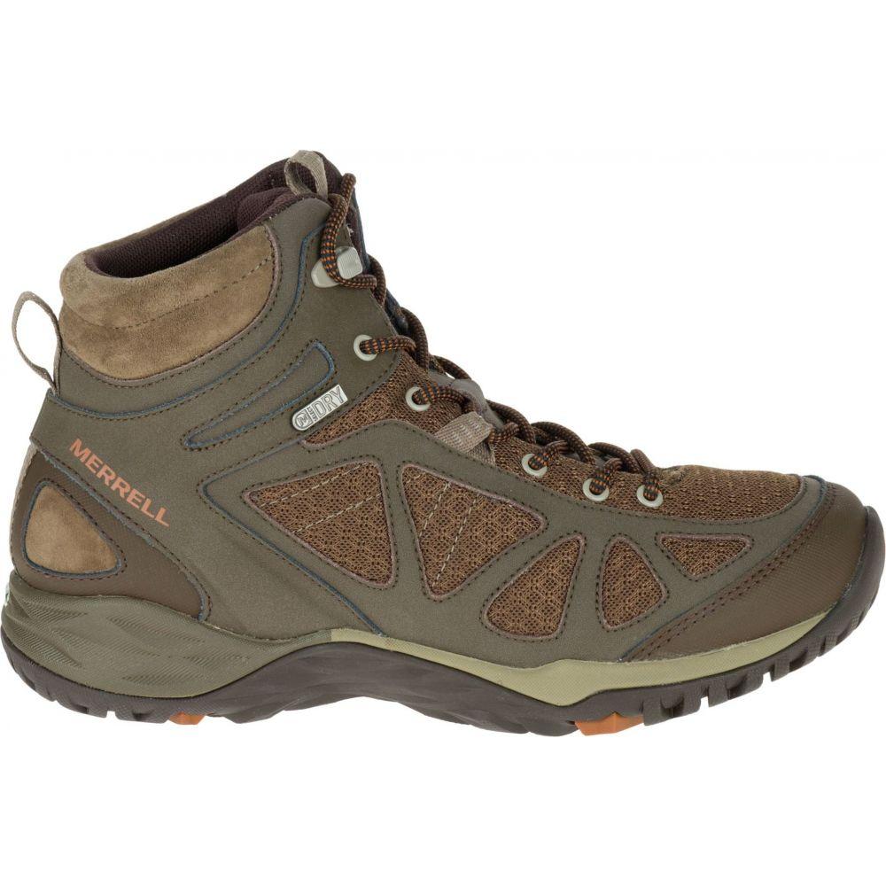 メレル Merrell レディース ハイキング・登山 ブーツ シューズ・靴【Siren Sport Q2 Mid Waterproof Hiking Boots】Slate Black