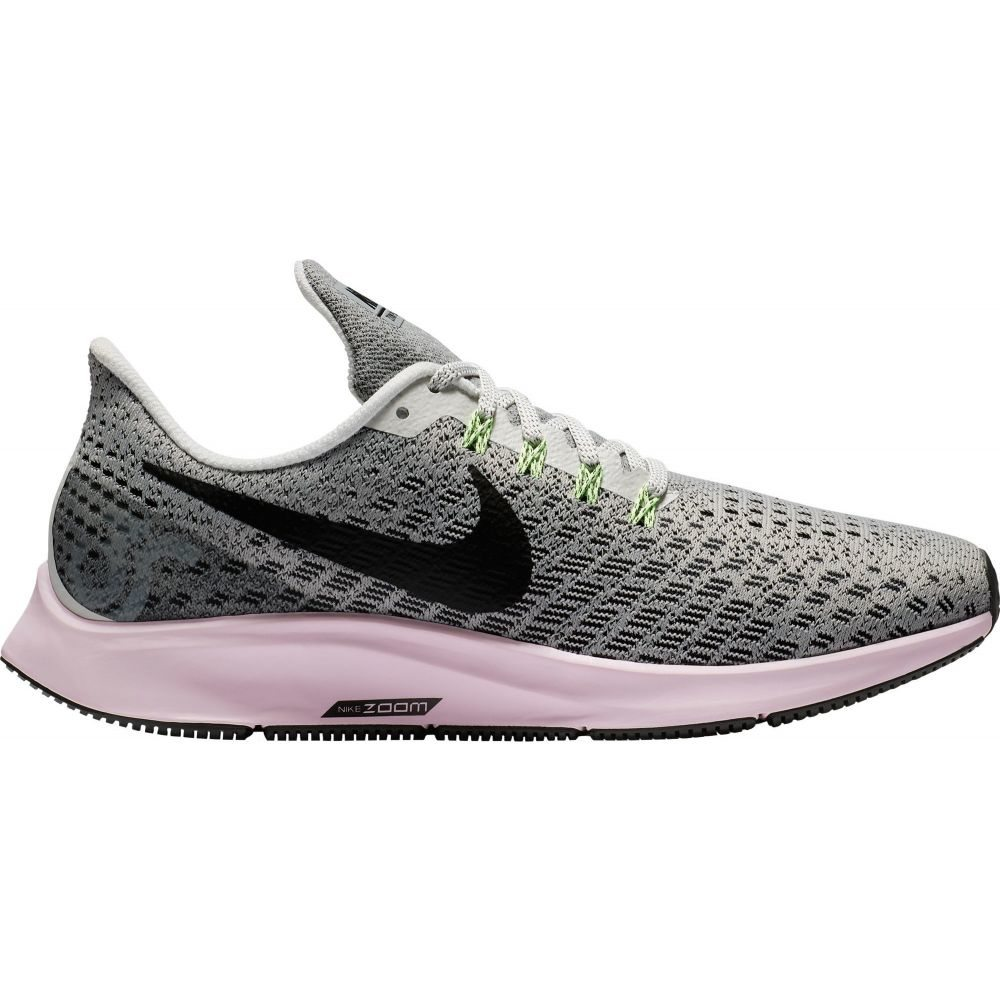 ナイキ Nike レディース ランニング・ウォーキング シューズ・靴【Air Zoom Pegasus 35 Running Shoes】Grey/Pink/Black