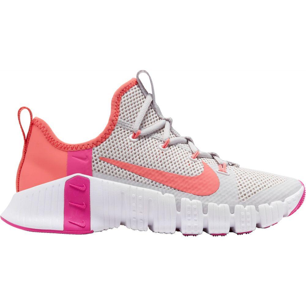 ナイキ Nike レディース フィットネス・トレーニング シューズ・靴【Free Metcon 3 Training Shoes】VstGry/MgcEmbr/Wht/FrePnk