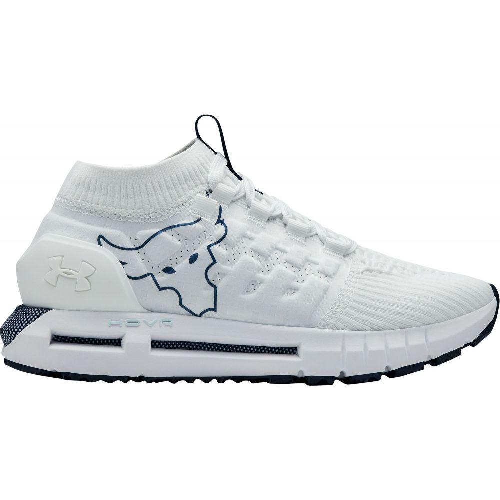 アンダーアーマー Under Armour レディース ランニング・ウォーキング シューズ・靴【HOVR Phantom Project Rock Running Shoes】White/Fuse Teal