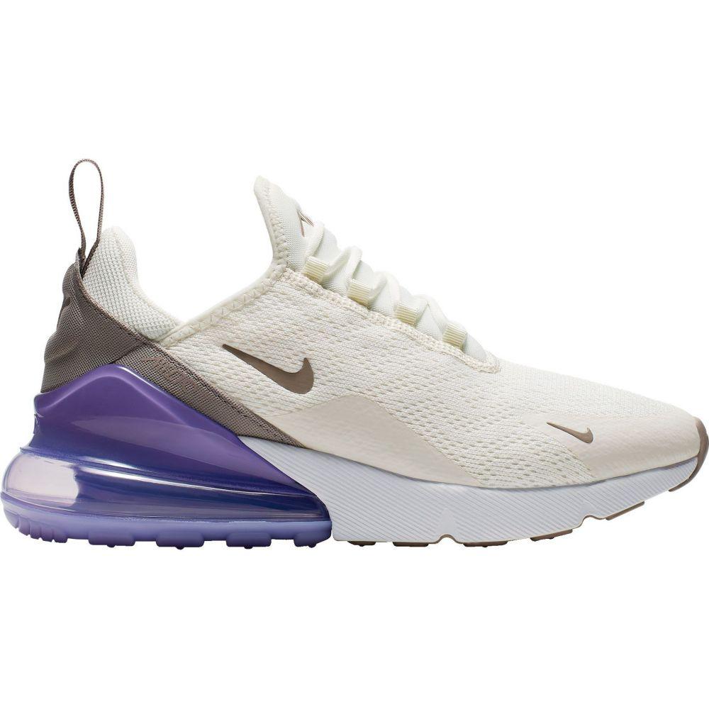 ナイキ Nike レディース スニーカー シューズ・靴【Air Max 270 Shoes】White/Purple