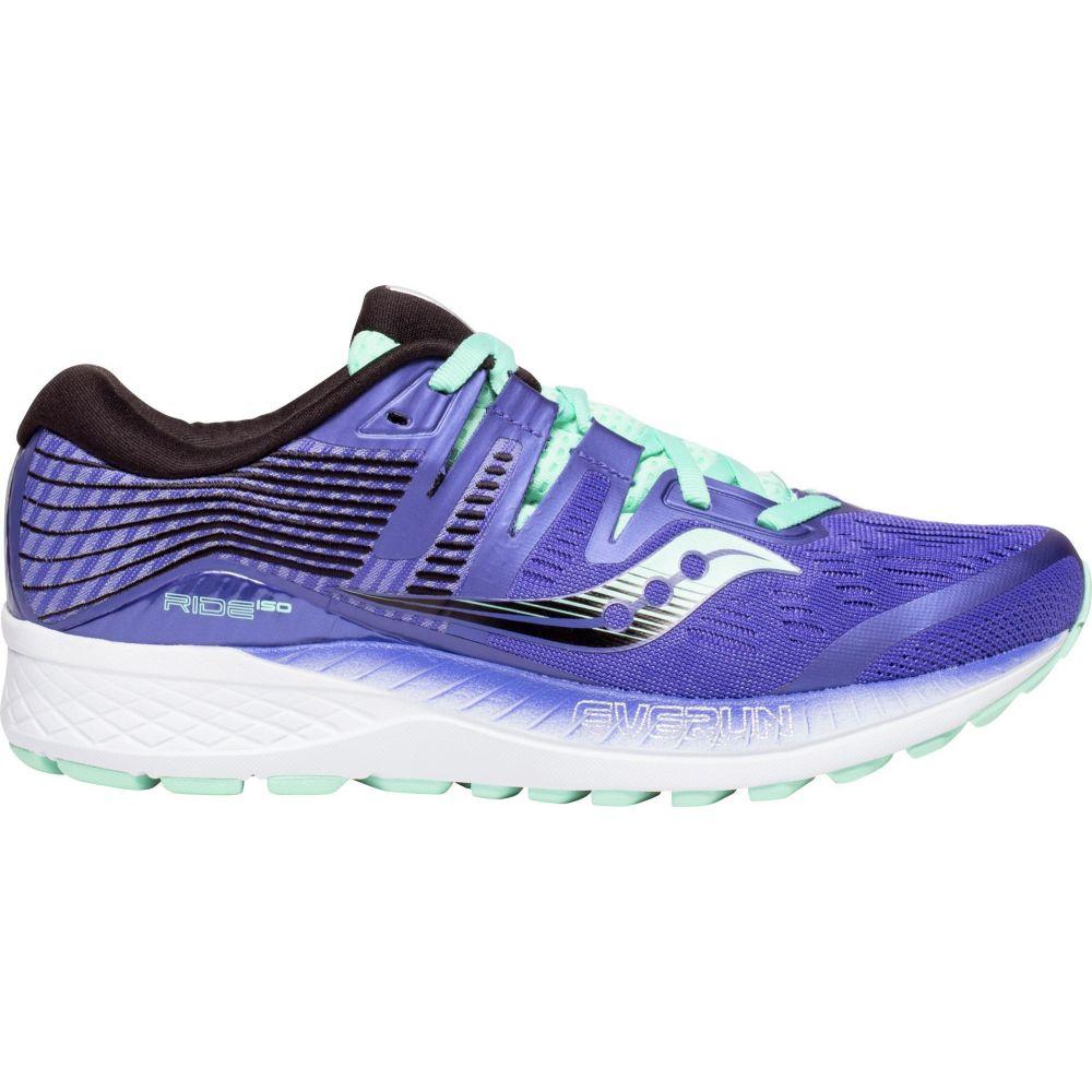 サッカニー Saucony レディース ランニング・ウォーキング シューズ・靴【Ride ISO Running Shoes】Violet/Aqua
