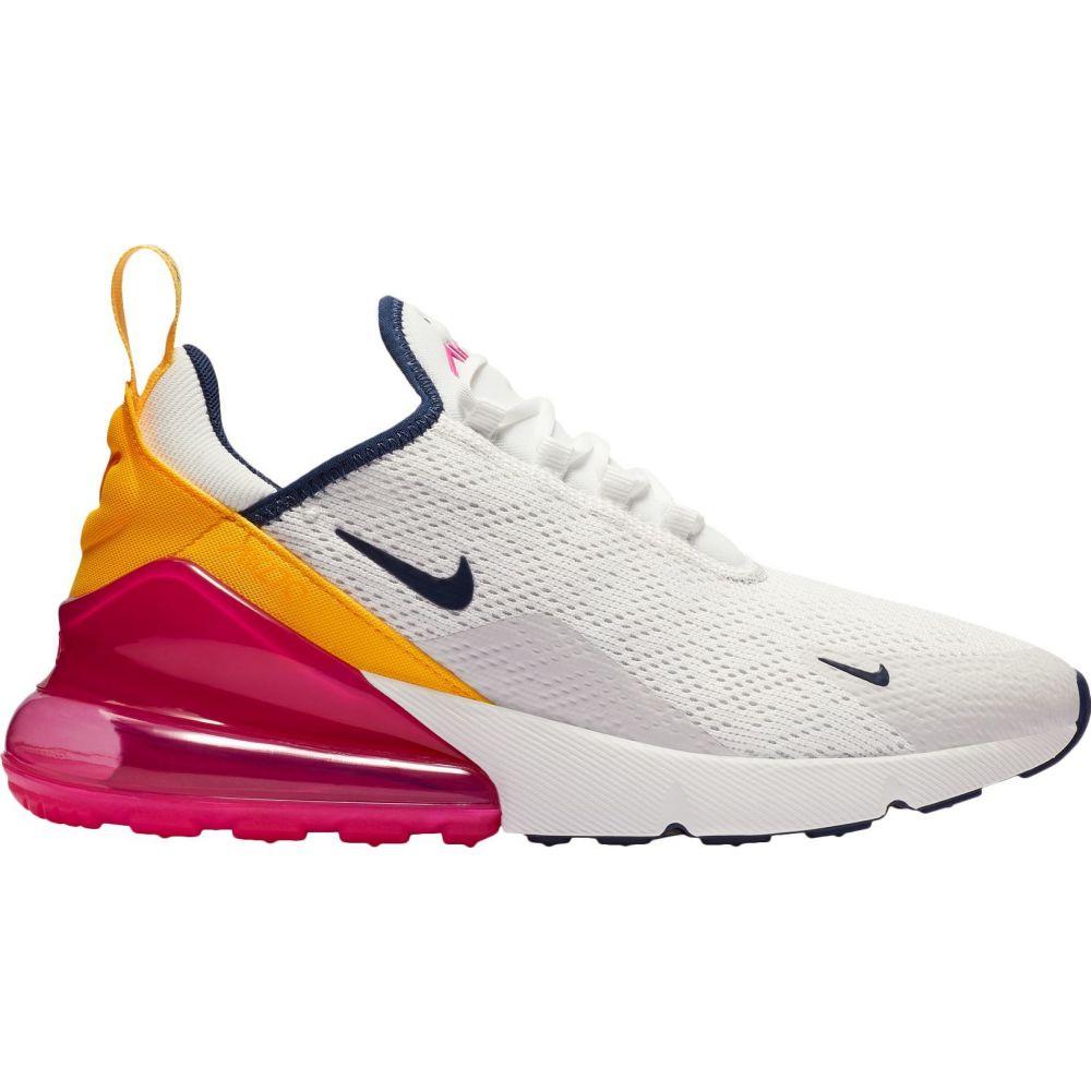ナイキ Nike レディース スニーカー シューズ・靴【Air Max 270 Shoes】WHITE/PINK/YELLOW